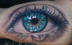 Eyeball Tattoos on Hands