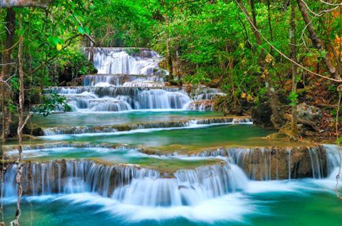 Erawan National park Thailand