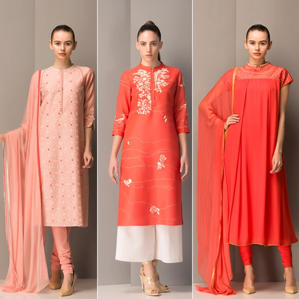 The Spring Summer '15 collection from AM:PM in romantic hues of reds & sorbet pinks.