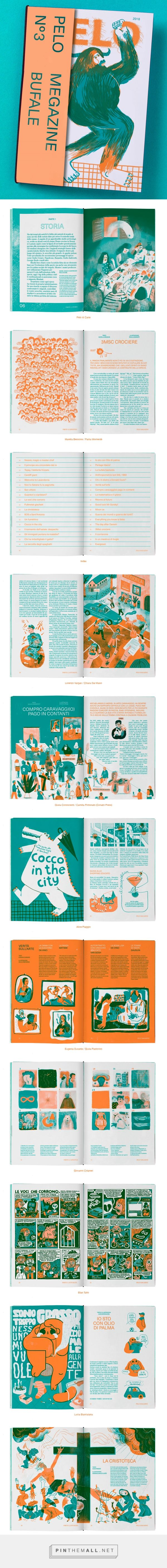 PELO megazine issue n°3 on Behance - created via https://pinthemall.net