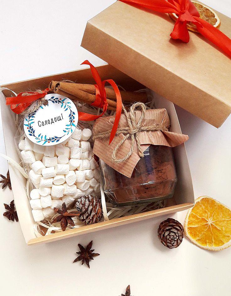 Новогодний подарочный набор с какао | Sweetmeet