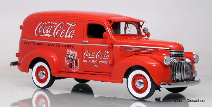 Awesome Diecast - Danbury Mint 1:24 1941 Coca Cola Delivery Truck ,  €114.50 (http://www.awesomediecast.com/danbury-mint-1-24-1941-coca-cola-delivery-truck/)