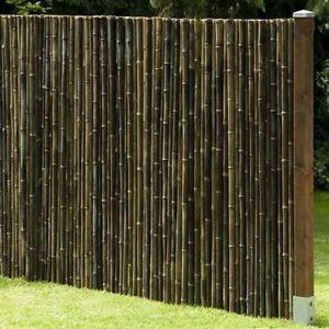 Detalles de privacidad black bamb jard n valla - Cortavientos de jardin ...