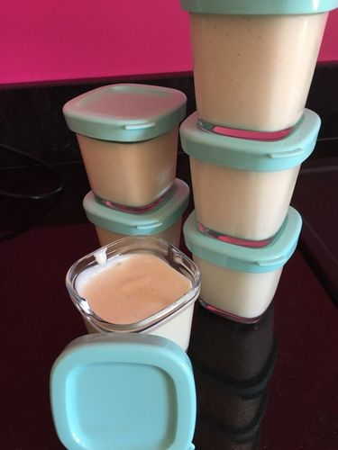 """""""Perle de Lait"""" Vanille - LizaCadabra yaourt (avec de la crème)"""