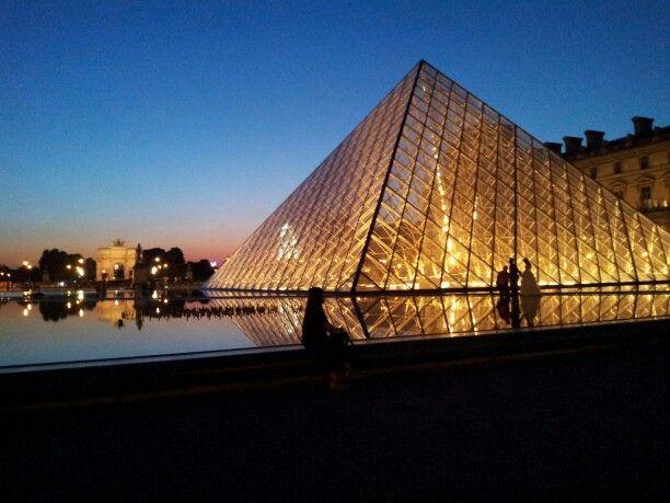 The Louve, Paris France