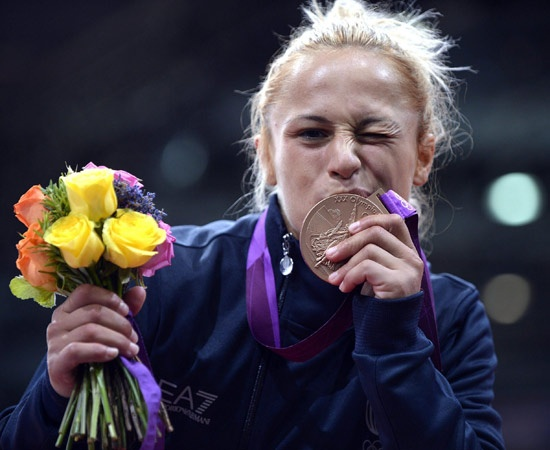 29 luglio - Bronzo - Judo donne 52 kg  Rosalba Forciniti