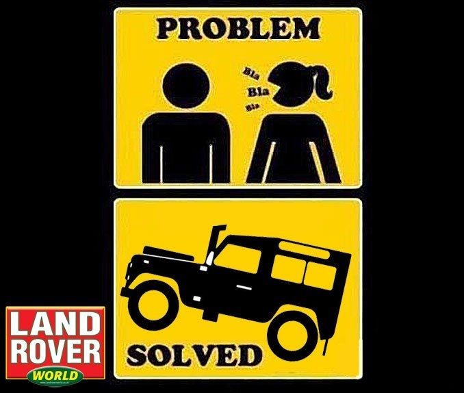 Solved. #LandRover | Land Rover