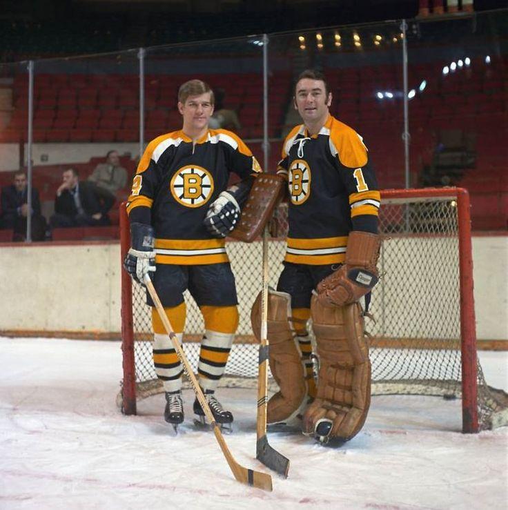 Bobby Orr and Eddie Johnston | Boston Bruins | NHL | Hockey