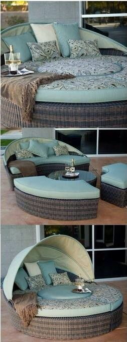 Outside furniture. Multipurpose, duly awesome.