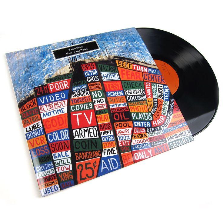 Radiohead: Hail to the Thief Vinyl (180g) Vinyl 2LP – TurntableLab.com