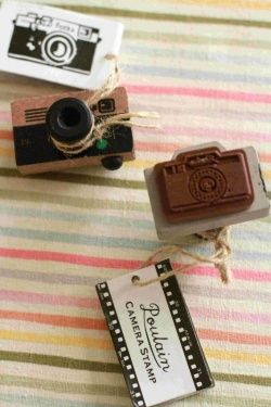 Chibi Run Camera Stamp #zakka