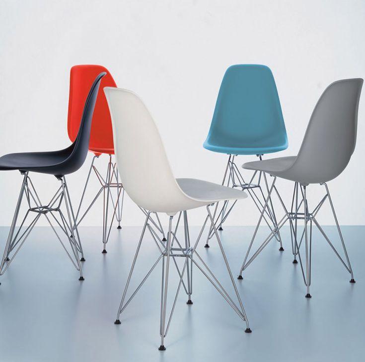 Inspire-se com as cadeiras Charles & Ray Eames, grandes marcos do design de móveis - limaonagua