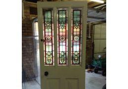 Edwardian front door wit...