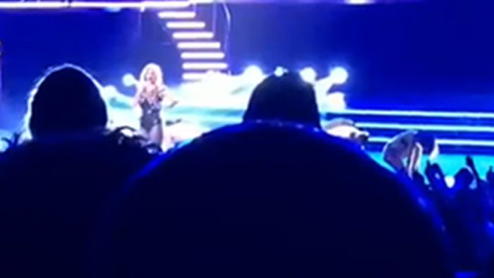 WATCH: Britney Spears drops f-bomb on rude fan!!