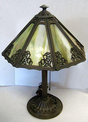Vintage Tiffany Style Lamps Vintage Bradley Amp Hubbard