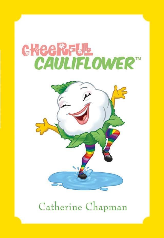 Cheerful Cauliflower  Now available at www.bestfoodfriends.com