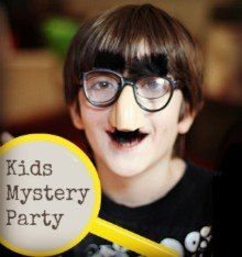 Things to do with kids: Kids' Mystery Party: Games and Ideas for a Kid-Friendly Murder Mystery Party