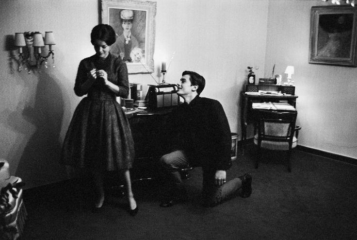 With Romy, 1959