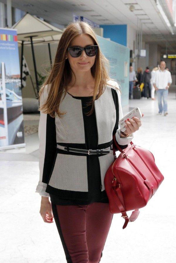 olivia palermo   Olivia Palermo: llega a Cannes con pantalones burdeos [FOTOS] Olivia ...