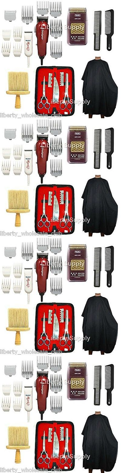 Hair Ties and Styling Accs: Complete Cosmetology Barber And Beauty School Kit Manikin Head Manicure Tool Sale BUY IT NOW ONLY: $199.99