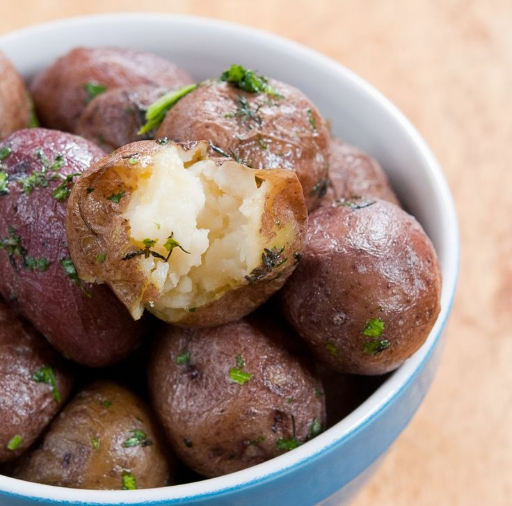 New York Salt Potatoes - supposedly extremely creamy because they're cooked in salt water
