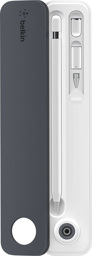 Belkin - Case + Stand for Apple Pencil - Gray