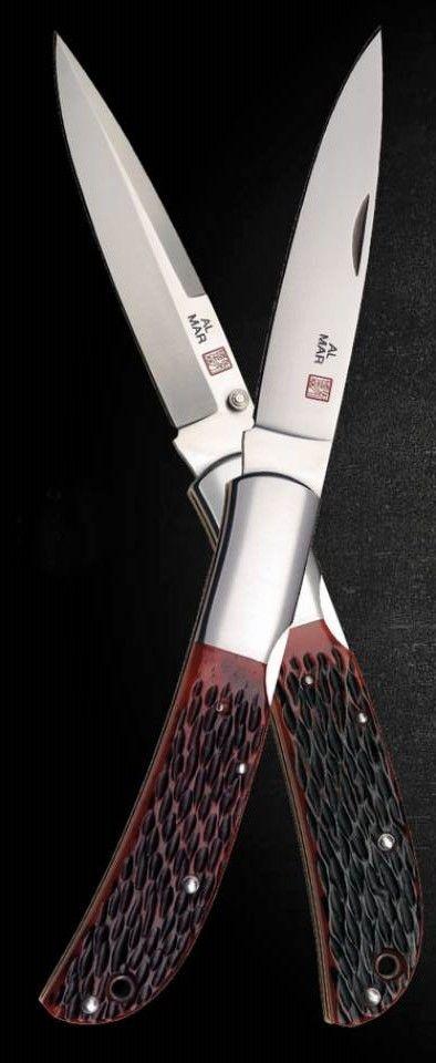 Al Mar Hawk EDC Folding Pocket Knife Blade