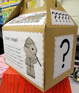 Mystery Box! {Inferencing Activity}  Great way to intro a new unit...