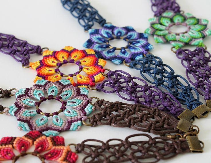 Macrame bracelets                                                       …