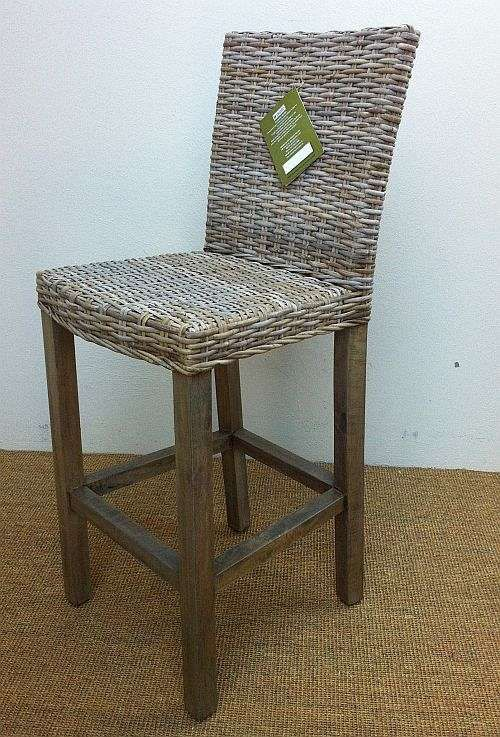 Los Rios Bar Stool With Back