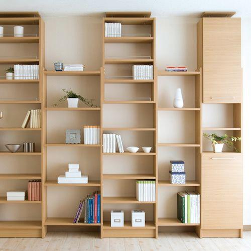 薄型本棚を便利でおしゃれにするための5つのコツ 薄型本棚 おしゃれ
