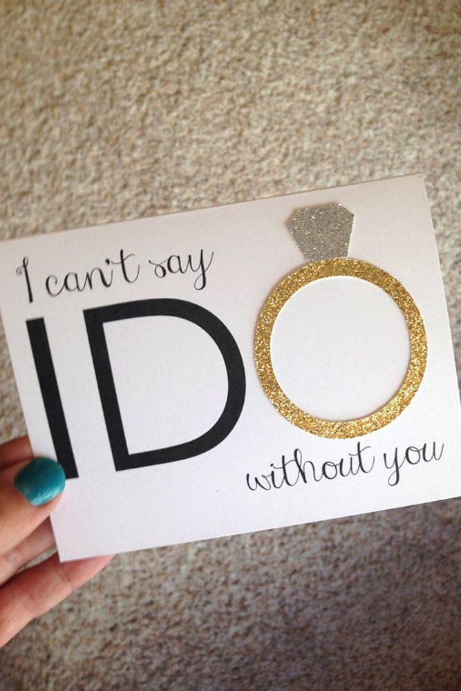 15 Super Fabulous Bridesmaid Proposal Ideas ❤ See more: http://www.weddingforward.com/bridesmaid-proposal-ideas/ #wedding #bridesmaid #proposal