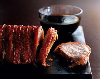 Bacon-Wrapped Maple Pork Loin