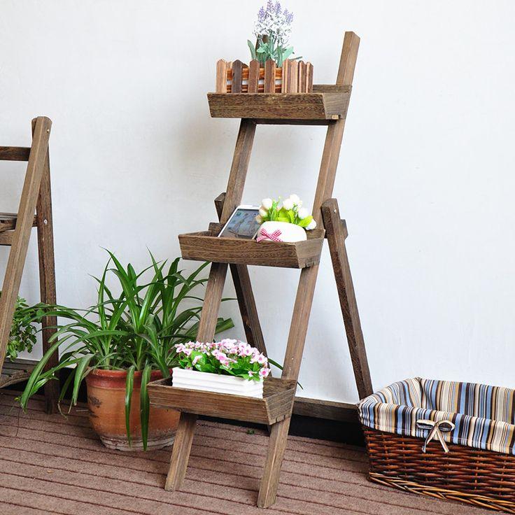 78 ideas sobre estante de madera en pinterest for Casillas para jardin