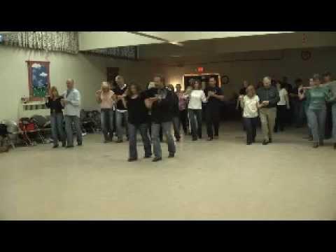 Linedance lesson Couples Blue Rose Choreo. Darrell & Doris Aldrich Music...