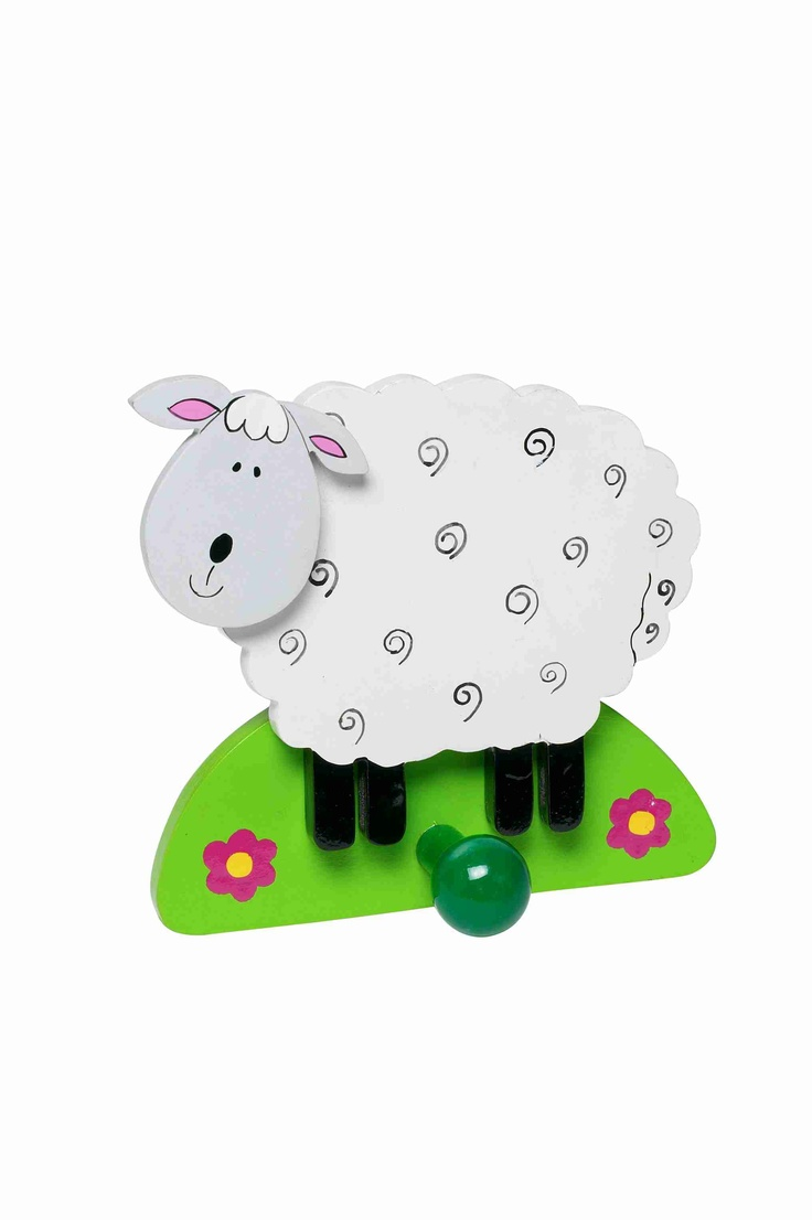 Sheep Coat Hook For Childrenu0027s Bedroom Or Nursery  Http://littleragamuffin.co.