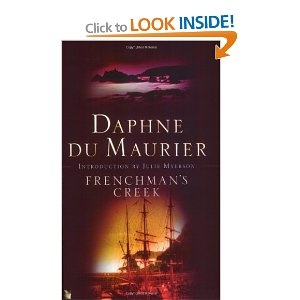 Frenchman's Creek by Daphne Du Maurier. Pirate romance- fuelling the fantasies.