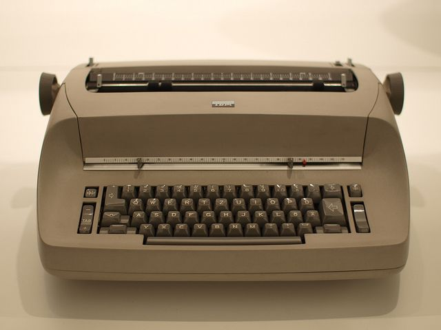 IBM electric  Loved going to work with Mom, and typing on her typewriter.