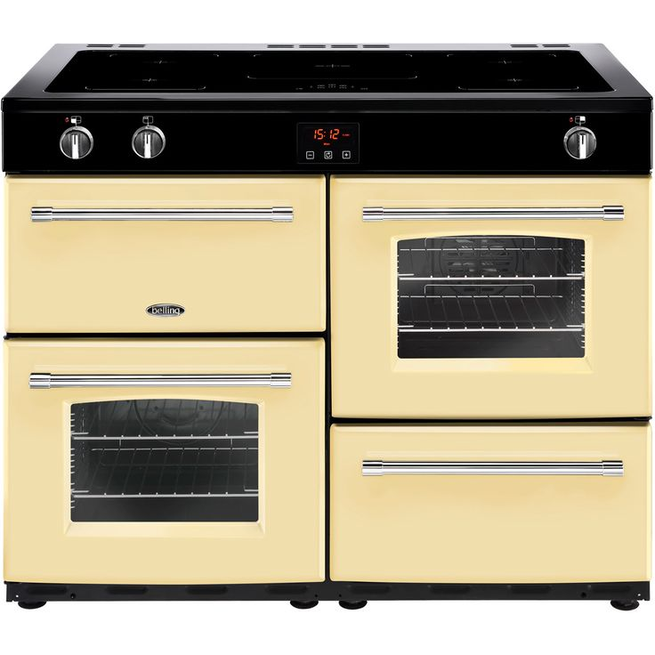 Farmhouse110Ei_CR | Belling Range Cooker | Cream | ao.com