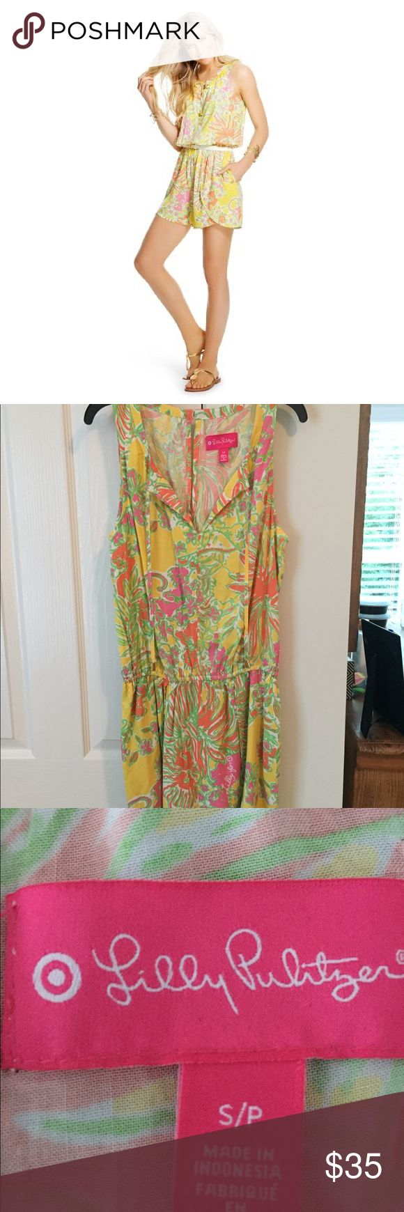 Lily Pulitzer by target romper Worn only once-too big for me LIMITED EDITION Lilly Pulitzer for Target Other