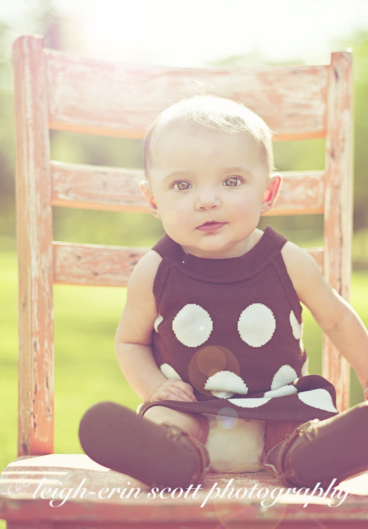 Beautiful baby girl! #baby #photography #ideas