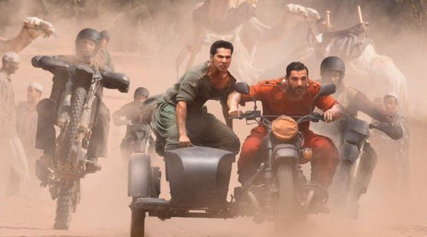 "Check out! The first look of John Abraham and Varun Dhawan's ""Dishoom"""