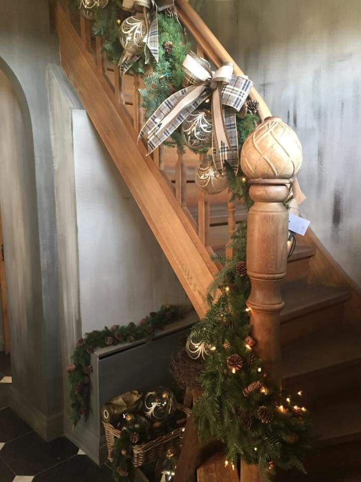 Kerst trap