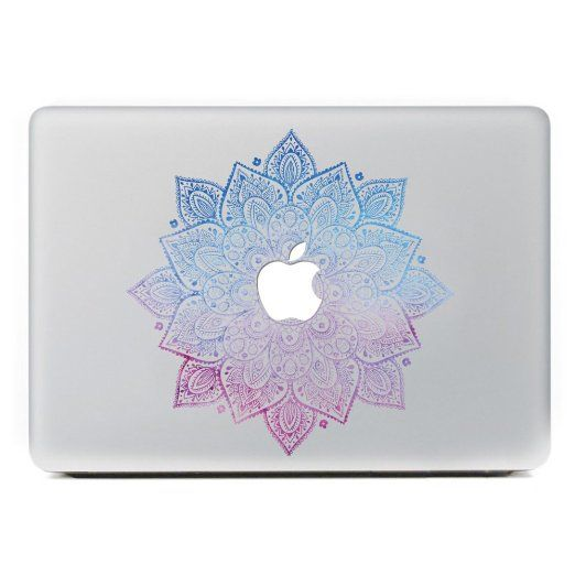 """Amazon.com: iCasso Leaves Removable Vinyl Decal Sticker Skin for Apple Macbook Pro Air Mac 13"""" inch / Unibody 13 Inch Laptop: Computers & Accessories"""