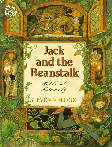 jack and the beanstalk: Steven Kellogg Author Study, Beanstalk Books, Kids Books, Giant Beanstalk, Fairies Tales Activities, Jack O'Connel, Children Books, Beanstalk Study, Beanstalk Fairyt