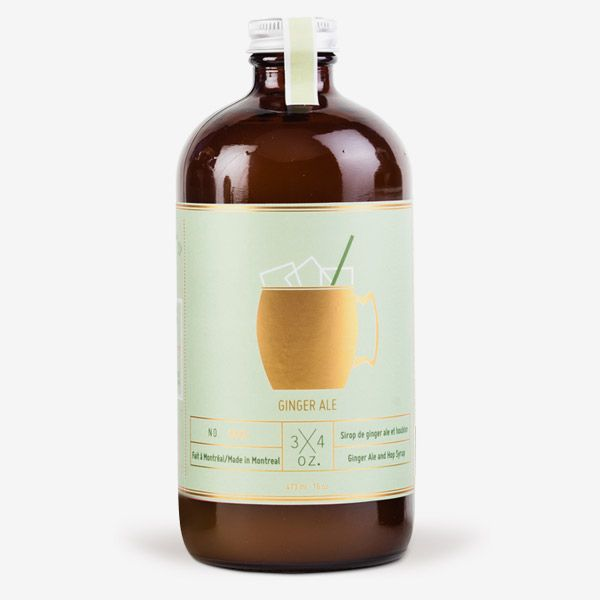 Delicious artisan ginger ale syrup (and they make a tonic one as well!)