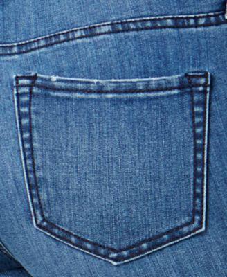 Buffalo David Bitton Faith Embroidered Skinny Jeans - Blue 30