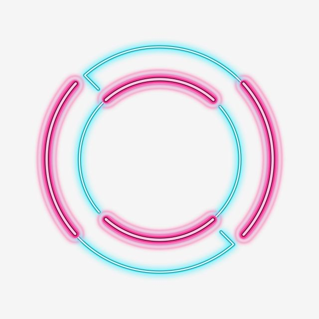 Color Light Effect Neon Round Commercial Border Color Light Effect Neon Png Transparent Clipart Image And Psd File For Free Download Neon Png Light Colors Light Effect