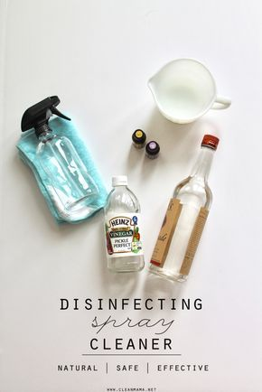 Disinfect without the use of bleach or harsh chemicals.