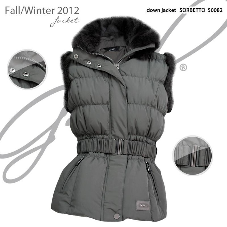 G.SEL - Item of the day :::::: down jacket SORBETTO GS50082